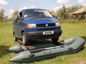 Bark csónak autó teszt